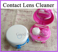 contact lens cleaner - lt Retail gt Electric Contact Lens Auto Cleaner Washer Case Cleaning Device Box