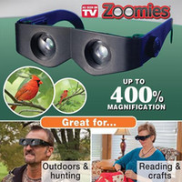 Wholesale via Fedex Zoomies binocular glasses Telescope Sunglasses