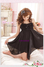 Pure and transparent lace sexy temptation of big yards fat women dress sexy lingerie sleepwear mm