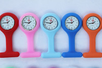 Wholesale 1000pcs nurse watch doctor watch silicon watch Colourful Professional Useful Medical Watch Christmas Gift Utop2012