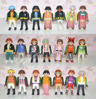 Multicolor american native people - New Playmobil Figures Knights People Horses Native American Random Child Toy
