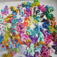 My little pony Action Figures toy 4- 6CM Pony Littlest Figure...