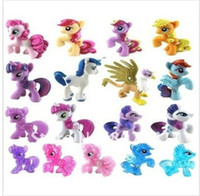 Wholesale baby toy girl s gift doll HasBro horse mini stick Pony treasure my little pony toys for children babies