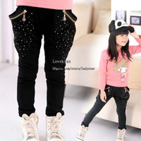 Wholesale Girl Clothes Casual Trousers Pencil Pants Child Clothing Fashion Long Trousers Harem Pants Girls Trouser Children Casual Pants Kids Trouser