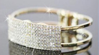 Wholesale Fashion crystals Cheap Wedding Bridal Jewelry Set Include bracelet NM48
