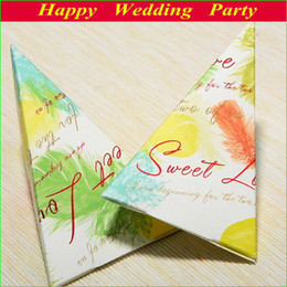 Wholesale 131130 New Design Paper Wedding Candy Boxes with printing as Wedding Party Favors