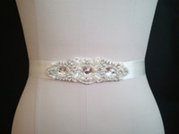 sequence - 2014 Exquisite Sequence Beads Rhinestones Wedding Belts Bridal Sashes Wedding Accessories