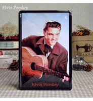 Wholesale 20 cm Elvis Presley Vintage Poster Metal Painting Home Decor Wall Plaques Tin Sign