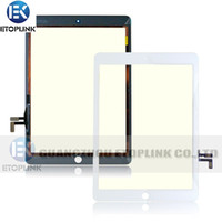 Wholesale For Ipad Air Touch Screen Glass Digitizer For Ipad Black Or White Color