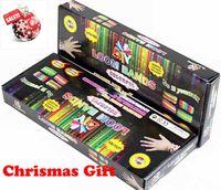 8-11 Years muticolor Silicone Chrismas gift HOT Rainbow loom kit colorful DIY bracelets Twistz band retail package 600pcs bands+24pcs S clips+1pcs shell+1 pcs hook