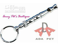 Wholesale metal dog flute Dog Training Supersonic Whistle dog products e1