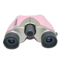 Wholesale MIni size Bushnell Powerview x18 Compact Folding Binoculars Pink Blue