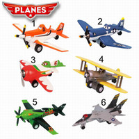 Wholesale Dusty planes Aircraft model toy with music and light amp Toy Vehicles Toys