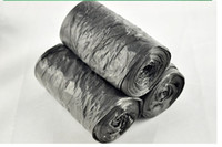 Eco Friendly plastic trash bags - Super Warming Clean up Refuse Black Plastic Garbage Rubbish Waste Trash Bags Rolls amp Drop Shipping