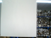 Wholesale Factory outlets polyester full light shading white customized roller blinds