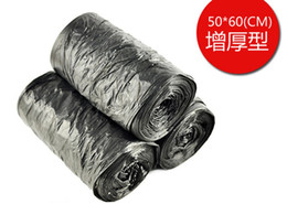 Wholesale High quality One off Super Warming big size Clean up Refuse Plastic Garbage Rubbish Waste Trash Bags Rolls