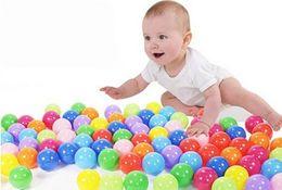Wholesale 50Pcs cm Colorful Ball Fun Soft Plastic Ocean Ball Baby Kid Swim Pool Pit Toy