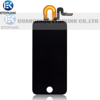 Wholesale For ipod touch LCD screen display with touch screen digitizer White or Black original