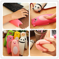 Wholesale Cute Animal Cartoon Wrist Carpal Rest Support Soft Foam Pad Mat Mouse Wrist Guard Cushion