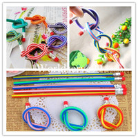 Wholesale 10 x Magic Flexible Bendy Colorful Soft Pencil Eraser Kids Children Study Gifts Fun