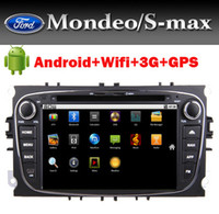 Wholesale Car DVD Android for Ford Mondeo S Max Focuswith G Wifi GPS Bluetooth Radio TV Ipod USB SD DVD Canbus