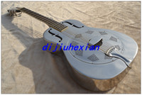 Wholesale 2013 Stainless steel body rosewood fingerboard OEM Acoustic Guitar chistmas Special Guitar