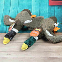 Wholesale American Classic Mallard wild Duck Dog Toy with big Squeekers