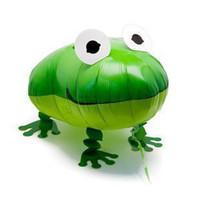 Multicolor balloon animal frog - assortment design inches walking pet balloon walking balloon animals frog walking balloon