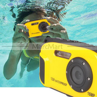 Wholesale 2013 New MP Digital Camera m waterproof TFT LCD x Digital Zoom for Underwater Photography