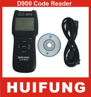 Wholesale DHL EMS D900 Live PCM Data CANSCAN OBD2 Code Reader Scanner Auto Diagnostic Tool