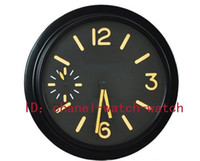 Wholesale Factory Seller Luxury Brand New Home Decor Limited Edition PAM Luminous Black PVD DLC Quartz Wall Clocks Watch Battery Wall Clock Watches