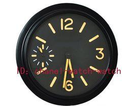 Wholesale Factory Seller Luxury Brand New Home Decor Limited Edition PAM Luminous Black PVD DLC Quartz Wall Clocks Watch Battery Wall Clock Watches