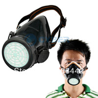 Wholesale Anti Dust Safety Paint Spray Industrial Chemical Gas Mask Respirator Dropshipping TK0856
