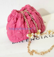 Wholesale On sale Cute Cross body fashion bag hangbag coin purse Drawstring Bucket Bag
