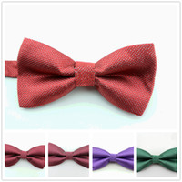 Wholesale 2014 fashion solid color men bow ties Silver line bowtie Wedding bowtie party dress cravat
