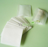 Wholesale X mm Empty tea bag Heat sealing bag Filter paper Herb powder plant powder bags