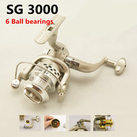 Cheap Hot Sale SG-3000 5.1:1 GEAR RATIO Metal Spinning Reels Fishing Tackle Lure Fishing Reels