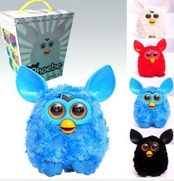 Wholesale Electric Phoebe owl Elves Recording Plush Electronic Pet Toys Talking Mini Toy Best christmas Gift furby toys repeat toys