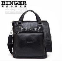 Wholesale Best quality real leather man bag for Ipad designer men handbag brand man bags