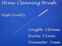 190*50*7mm   100pcs Drinking Straw Cleaning Bush,190mm Perfect Reusalbe Straw Cleaner,for Straws,Baby Sippy Cup,Tea Pot Spout ect.