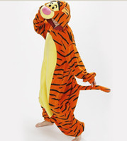 Anime Costumes anime tigers - Mens Ladies Tiger Onesie Adult Animal Onesies Onsie Kigurumi Pyjamas Pajamas cosplay Costumes R334 S M L XL XL