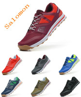 Wholesale Salomon Outban low Shoes Salomon Women And Men Running Shoes Salomon Women And Men Sneakers Color Size