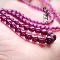 Pendant Necklaces Natural crystal / semi-precious stones Garnet [ Love ] natural tourmaline top purple teeth black garnet necklace State Inspection Certificate nationwide rare !