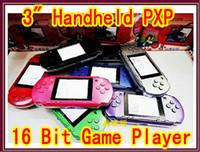 Wholesale Hot selling handheld game player PXP color screen popular handheld games cheap game player JBD PXP3