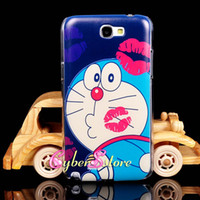 Wholesale Lovely Cute Cartoon Ddcat Pokonyan Arale Butterfly Sexy Girl Lips Hard Plastic Case Cover For Samsung Galaxy Note N7100