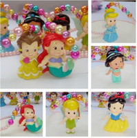 Wholesale Children Accessroies Jewelry Girl Necklace Plastic Necklace Cartoon princess Character Necklace Mix colours