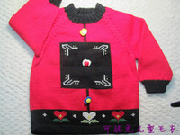 Wholesale Baby and Kids Hand Knitted Clothing Sweaters ages to