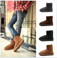 Ankle Boots Unisex Winter New Winter Boots Add Wool Warm Leisure Snow Boots For Men Free Shipping Size 35-45 tk0054