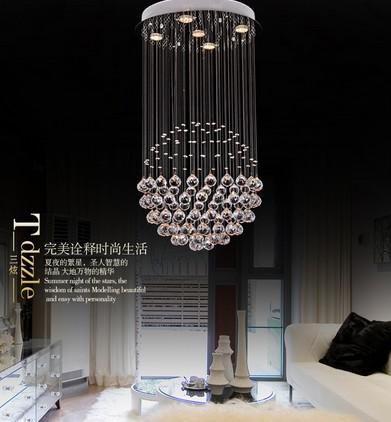 Top Sales Ball Design Crystal Chandelier Modern LED Lamp Diameter 40cm Lustre Living Room Lights Online With 27541 Piece On Daisy8814s