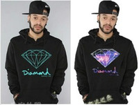 Wholesale Hottest Autumn Winter Hip hop Diamond Supply Co Sweatshirts Big Size Sport Mens Hoodie Casaco Hoodies amp Sweatshirts AMY12
